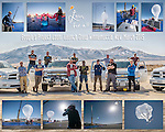 Crew of Project Loon balloon launch with Google at the Winnemcuca Municipal Airport, Nev.