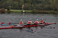 191 WRC .Reading Rowing Club Small Boats Head 2011. Tilehurst to Caversham 3,300m downstream. Sunday 16.10.2011
