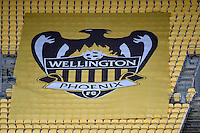 Action from the A League - Wellington Phoenix v Newcastle Jets at Westpac Stadium, Wellington, New Zealand on Sunday 26 October 2014. <br /> Photo by Masanori Udagawa. <br /> www.photowellington.photoshelter.com.