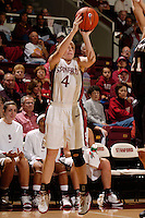 2 November 2006: Stanford Cardinal Clare Bodensteiner during Stanford's 103-57 win against Chico State Wildcats at Maples Pavilion in Stanford, CA.