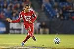 07 December 2012: Indiana's Kerel Bradford. The Creighton University Bluejays played the Indiana University Hoosiers at Regions Park Stadium in Hoover, Alabama in a 2012 NCAA Division I Men's Soccer College Cup semifinal game. Indiana won the game 1-0.