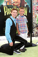 "LOS ANGELES - AUG 5:  Dylan Riley Snyder, guest arrives at the ""ParaNorman"" Premiere at Universal CityWalk on August 5, 2012 in Universal City, CA"