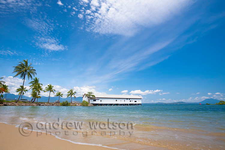 Historic Sugar Wharf.  Port Douglas, Queensland, Australia