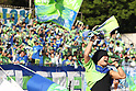 HAN-KUN (Shonan no Kaze), MAY 8th, 2011 - Football : HAN-KUN of Shonan no Kaze performs before the 2011 J.League Division 2 match between Shonan Bellmare 1-1 Ehime FC at Hiratsuka Stadium in Kanagawa, Japan. (Photo by Kenzaburo Matsuoka/AFLO).