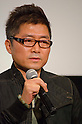 November, 21st : Tokyo, Japan &ndash; The Korean director Je-Kyu Kang appears at a press conference for  the film &ldquo;MY WAY&rdquo; in the Shinjuku WALD9 CINEMA. This story is based on a true story during the World War . Joe Odagiri (Japan) and Dong-Gun Jang (Korea) play in the movie as main characters. This film will be released from January14th. (Photo by Yumeto Yamazaki/AFLO)