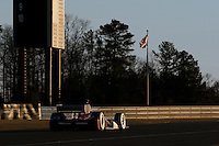 20-21 Febuary, 2012 Birmingham, Alabama USA.Scott Dixon in the Dario Franchitti No.10 on the last lap of the day .(c)2012 Scott LePage  LAT Photo USA