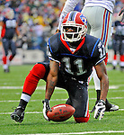 23 December 2007: Buffalo Bills wide receiver Roscoe Parrish in action against the New York Giants at Ralph Wilson Stadium in Orchard Park, NY. The Giants defeated the Bills 38-21. ..Mandatory Photo Credit: Ed Wolfstein Photo