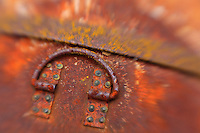 Rusty Handle - Pottsville - Merlin, Oregon - Lensbaby
