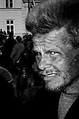 Warsaw 10-17 April 2010 Poland<br /> National mourning after a plane crash, in which killed President Lech Kaczynski and his wife Maria. Warsaw crowd arrived at the Presidential Palace to honor and pay homage to the President of the Republic of Poland<br /> (Photo by Filip Cwik / Napo Images)<br /> <br /> PICTURE TAKEN ON NEGATIVES<br /> <br /> Warszawa 10-17 kwiecien 2010 Polska<br /> Zaloba narodowa po katastrofie samolotu, w ktorej zginal Prezydent RP Lech Kaczynski wraz z zona Maria. Warszawianie tlumnie przybyli pod Palac Prezydenta aby oddac czesc, zlozyc hold i pozegnac tragicznie zmarlego Prezydenta RP<br /> (fot. Filip Cwik / Napo Images)