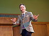 George Galloway <br /> launching his bid to become the next Mayor of London in 2016 <br /> at Conway Hall, London, Great Britain <br /> 14th June 2015 <br /> <br /> Max Keiser <br /> comparing the Rally <br /> Timothy Maxwell &quot;Max&quot; Keiser is an American broadcaster and film maker. He hosts Keiser Report, a financial program broadcast on Russian state media channel RT.<br /> <br /> Photograph by Elliott Franks <br /> Image licensed to Elliott Franks Photography Services
