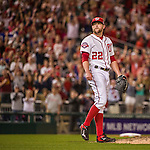 22 May 2015: Washington Nationals pitcher Drew Storen closes out a game against the Philadelphia Phillies at Nationals Park in Washington, DC. The Nationals defeated the Phillies 2-1 in the first game of their 3-game weekend series. Mandatory Credit: Ed Wolfstein Photo *** RAW (NEF) Image File Available ***