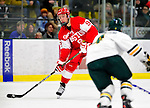 9 January 2011: Boston University Terrier forward Alex Chiasson, a Sophomore from St. Augustin, Quebec, in action against the University of Vermont Catamounts at Gutterson Fieldhouse in Burlington, Vermont. The Terriers defeated the Catamounts 4-2 in Hockey East play. Mandatory Credit: Ed Wolfstein Photo