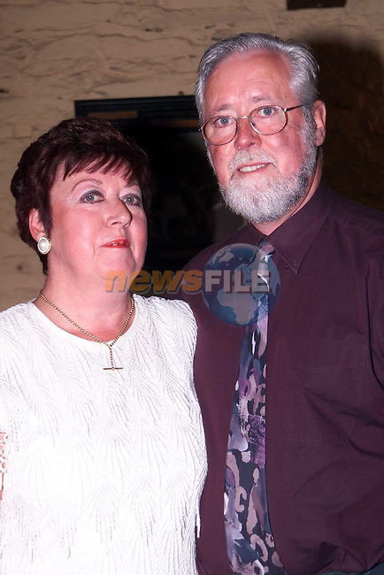 Marie and Frank Kerr who celebrated thier 30th Wedding Anniversary recently..Picture Paul Mohan Newsfile