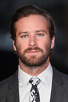 LONDON, UK. October 16, 2016: Armie Hammer at the London Film Festival 2016 premiere of &quot;Free Fire&quot; at the Odeon Leicester Square, London.<br /> Picture: Steve Vas/Featureflash/SilverHub 0208 004 5359/ 07711 972644 Editors@silverhubmedia.com