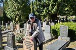 Manfred Friedländer and Rabbi Boris Ronis Jewish Cemetery Berlin