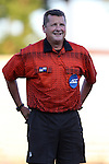15 September 2015: Referee John McCloskey. The Duke University Blue Devils hosted the University of North Carolina Wilmington Seahawks at Koskinen Stadium in Durham, NC in a 2015 NCAA Division I Men's Soccer match. UNCW won the game 3-0.