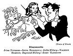 Train of Events ; Irina Baronova , Valerie Hobson and John Clements..........