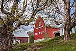 Pomfret Highlands Farm in Pomfret, VT, USA