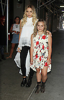 NEW YORK, NY-July 06: Lennon Ray Louise Stella and Maisy Jude Marion Stella of Lennon & Maisy    at  AOL BUILD to talk about music and TV series Nashville in New York. NY July 06, 2016. Credit:RW/MediaPunch