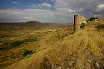 The ruins of the citadel of legendary Islamic leader Salahadin al-Ayoubi, outside Irbil, Iraqi Kurdistan...Stability and security prevail in postwar Iraqi Kurdistan as Iraqi tourists, many of them from Baghdad, flock to the northern cities and their amusement parks and national parks to escape violence and sectarian strife in the central and southern regions of the country.