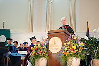 UVM President Thomas Sullivan. Commencement, class of 2013.