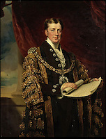 BNPS.co.uk (01202) 558833<br /> Picture: Bonhams<br /> <br /> William Taylor Copeland, who was the Lord Mayor of London in 1835. Oil on canvas portrait est &pound;3,000<br /> <br /> It is the ultimate garden sale -- The aristocrat Cunliffe-Copeland family are auctioning off millions of pounds of antiques in a unique sale of the entire contents of their stately home Trelissick House near Truro in Cornwall. For generations the family have filled the magnificent The 18th century manor with treasures acquired from travels around the globe.<br /> <br /> 58 years ago the house was left to the National Trust on the condition members of the family could carry on living in the property. But the current incumbent, William Copeland and wife Jennifer, have decided to buy a normal-sized family home and are unable to take the hundreds of heirlooms with them. So they are holding a two-day sale of ancient ornaments, paintings, furniture, jewellery, silverware, books, rugs and wine in the grounds of Trelissick House, near Truro, later this month, and hope to raise &pound;3million