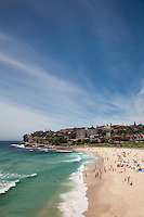 Beach at Bronte bay, Sydney, Australia