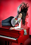 Viviam Maria Lopez, radio host for WDNA radio show Cubaneando in Miami.