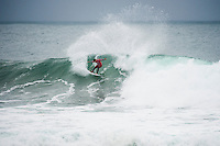 BELLS BEACH, Victoria/AUS (Tuesday, April 2, 2013) - Adriano de Souza (BRA), 25, has claimed the 2013 Rip Curl Pro Bells Beach presented by Ford over ASP Dream Tour rookie .Nat Young (USA), 21, in clean three-to-five foot (1 - 1.5 metre) waves at Bells Beach today..Event No. 2 of 10 on the 2013 ASP World Championship Tour (WCT), the Rip Curl Pro Bells Beach culminated in dramatic fashion today with the young Brazilian claiming the first South American men's title in the event's storied 52-year history..De Souza's win today vaults the young South American ASP WCT No. 4 heading into the third event on tour in Brazil...Young, the rookie goofy-footer from California's Santa Cruz, posted a career-best result today, wowing spectators and competitors alike with his run to the Finals..Young's Runner-Up finish today pushes him to No. 5, tied with reigning ASP World Champion Joel Parkinson (AUS), 31, on the ASP WCT rankings..Taj Burrow (AUS), 34, perennial ASP World Title threat, continued his blistering Bells Beach run this morning against compatriot Kai Otton (AUS), 33, in the Quarterfinals before coming up short to Young in their Semifinal bout..Jordy Smith (ZAF), 25, was one of the form surfers at Bells Beach throughout the event window, consistently notching up high-scoring rides. The powerful South African's run was ended, however, in the Semifinals at the hands of De Souza. - Photo: joliphotos.com