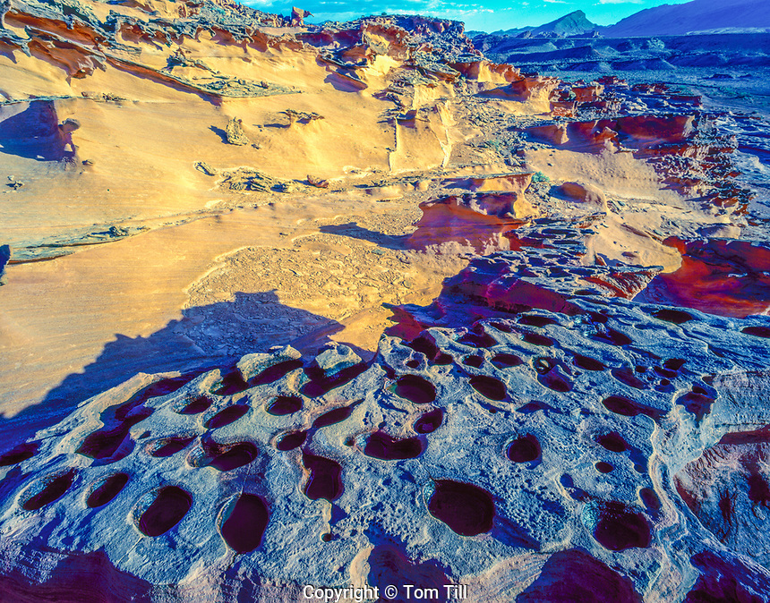 Small potholes, Gold Butte National Monument , Nevada, Hobgoblins PLayground