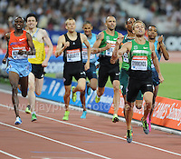 Nick Symmonds of the USA winning the Mens 800m race at the Sainsbury Anniversary Games, Olympic Stadium, London England, Friday 26th July 2013-Copyright owned by Jeff Thomas Photography-www.jaypics.photoshelter.com-07837 386244. No pictures must be copied or downloaded without the authorisation of the copyright owner.