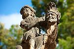 Villa; Palagonia; Bagheria; Sicily; Grotesque Pictures, photos, images & fotos