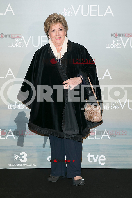 Paloma attends Claudia&acute;s Llosa &quot;No Llores Vuela&quot; movie premiere at Callao Cinema, Madrid,  Spain. January 21, 2015.(ALTERPHOTOS/)Carlos Dafonte) /NortePhoto<br />