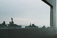 Francia Normania Le spiagge dello sbarco alleato, particolare di monumento