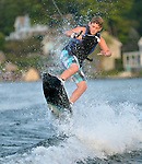 Water Ski Bar Mitzvah Photography