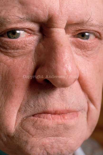 Anthony Burgess photographed in 1989, in Paris.
