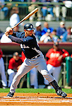 2 March 2009: New York Yankees' catcher Jorge Posada at bat during a Spring Training game against the Houston Astros at Osceola County Stadium in Kissimmee, Florida. The teams played to a 5-5, 9-inning tie. Mandatory Photo Credit: Ed Wolfstein Photo