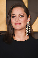 LONDON, UK. November 21, 2016: Marion Cotillard at the &quot;Allied&quot; UK premiere at the Odeon Leicester Square, London.<br /> Picture: Steve Vas/Featureflash/SilverHub 0208 004 5359/ 07711 972644 Editors@silverhubmedia.com