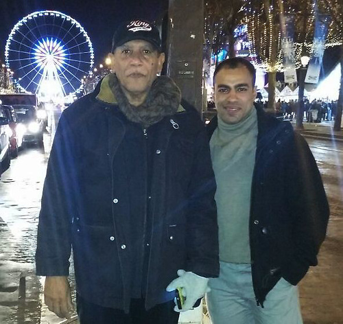 En la avenida de los Campos Elíseos con Pieranlly y Abraham