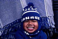 Happy ifugao child near Banaue, circa 1990