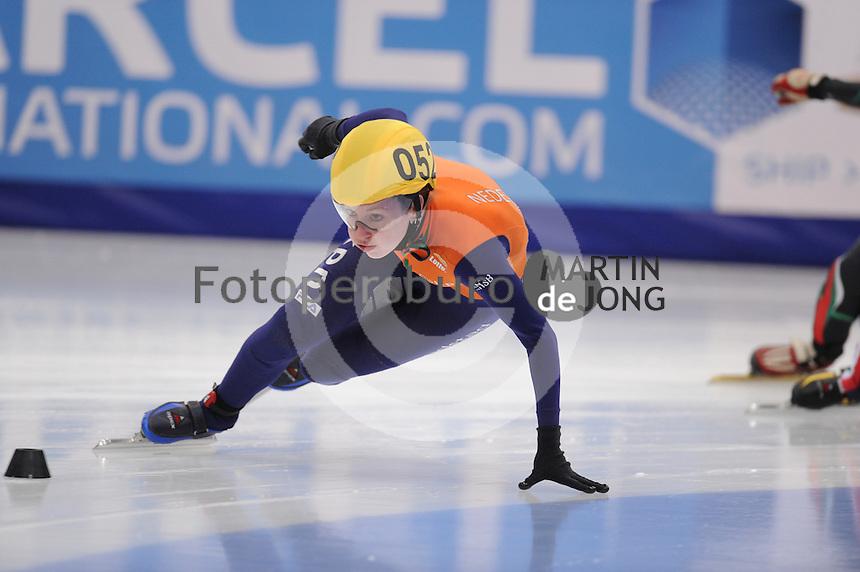 "SHORT TRACK: MOSCOW: Speed Skating Centre ""Krylatskoe"", 14-03-2015, ISU World Short Track Speed Skating Championships 2015, Ranking Races, Lara VAN RUIJVEN (#052   NED), ©photo Martin de Jong"