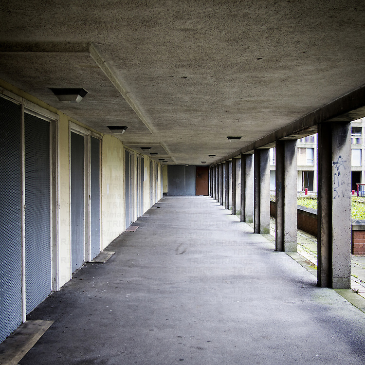 Parkhill, Sheffield, South Yorkshire, UK
