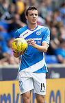 St Johnstone FC&hellip; Season 2016-17<br />Joe Shaughnessy<br />Picture by Graeme Hart.<br />Copyright Perthshire Picture Agency<br />Tel: 01738 623350  Mobile: 07990 594431