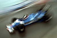 DETROIT, MI - JUNE 5: Jean-Pierre Jarier of France drives his Ligier JS21 04/Ford Cosworth DFV during the Detroit Grand Prix FIA Formula One World Championship race on the temporary Detroit Street Circuit in Detroit, Michigan, on June 5, 1983.