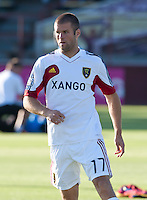 Santa Clara, California - Saturday July 14, 2012: Real Salt Lake vs San Jose Earthquakes at Buck Shaw Stadium. San Jose Earthquakes defeated Real Salt Lake 5 - 0.