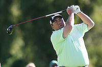 02/20/11 Pacific Palisades, CA: Kevin Stadler during the final round of the Northern Trust Open held at the Riviera Country Club.