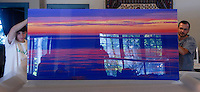 Afterglow, 40x80 pleximount by Jake Rajs