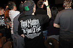Ellis Mania 5 presented by Jason Ellis at the Hardrock Hotel and Casino. Featuring exhibition fights between fans and celebrities, with special guest Benji Madden, lead singer of Good Charlotte