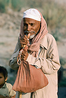 Old man in India