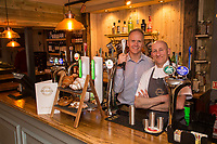 David Hage (left) and Mark Osborne of The Railway, Lowdham, Nottingham